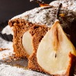 Winter pear cake — Stock Photo #59554019