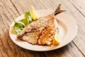 Roasted mackerel fish — Stock Photo