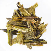White tea leaves — Stock Photo