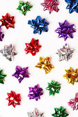 Decorative colorful bows — Stock Photo