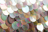 Sequins pattern texture — Stock Photo