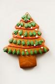 árbol de navidad pan de jengibre — Foto de Stock