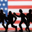 American toy soldiers — Stock Photo #62456663