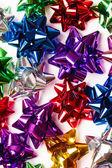 Decorative colorful bows — Stock Photo