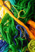 Colorful bright  threads — Stock Photo