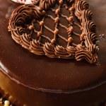 Cake for Valentine's day — Stock Photo #63664187