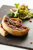 French quiche pie — Stock Photo