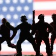 American toy soldiers — Stock Photo #63781799