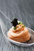 Tasty salmon pate — Foto de Stock