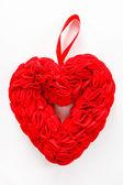 Red decorative heart — Stock Photo