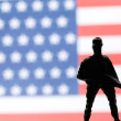 American toy soldier — Stock Photo #64021479