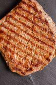 Rib-eye steak closeup — Stock Photo