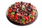 Fruit tart with berries — Foto de Stock