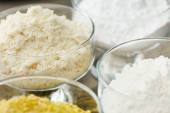 Different kinds of flour — Stock Photo