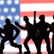 American toy soldiers — Stock Photo #67626875