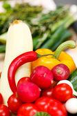 Fresh raw vegetables — Stock Photo