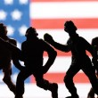 American toy soldiers — Stock Photo #70640095