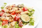Salad with chicken and vegetables — Stock Photo