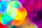 Colorful blurred lights — Stock Photo