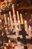 Lamp made like Christmas candles — Stockfoto