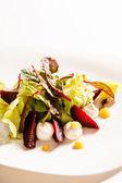ベジタリアンのサラダのクローズ アップ — ストック写真