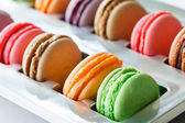 French colorful macaroons — Stock Photo