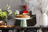 Home-made lemon tart — Stock Photo
