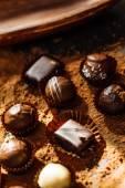 Chocolate sweet candies — Stock Photo