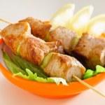 Fresh Tasty kebabs — Stock Photo #77691900