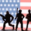 American toy soldiers — Stock Photo #78278878