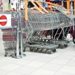 Shopping trolleys — Stock Photo #59233941