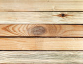 Stacked sawn wood — Stock Photo