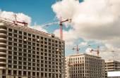 Building boom — Stock Photo
