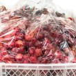 Packed Red grape — Stock Photo #66108379
