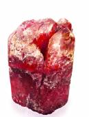 Red crystal aggregate — Foto de Stock
