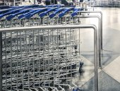 Shopping-carts — Stock Photo