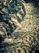 Evening cascade, closeup — Stock Photo
