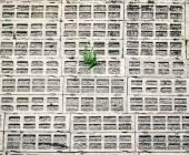 Closeup of concrete blocks — Stock Photo