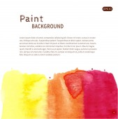 Watercolor paint background — Stock Vector