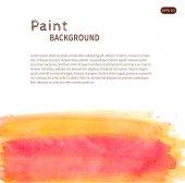 Akvarel barvy pozadí. — Stock vektor