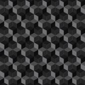 Cube seamless pattern — Stock Vector