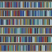 Bookshelf — Stock Vector