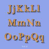 Retro Style Alphabet — Stock Vector