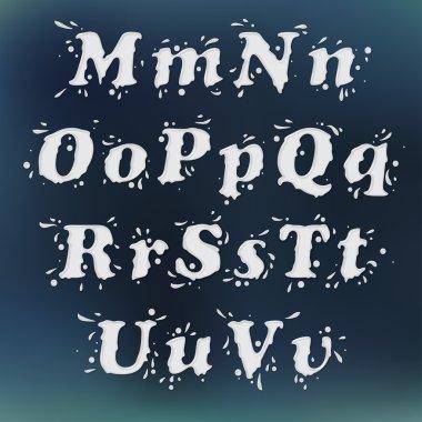 Milk Splash Font