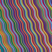 Lignes de couleurs abstraites — Vecteur