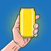 Drink in Hand — Stock Vector