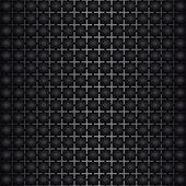 Black simple texture — Stock vektor