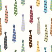 Colored ties — Stock Vector