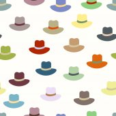Colored hats — Stock Vector