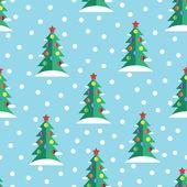 Seamless Christmas pattern — Stock Vector